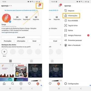 como acessar dados instagram