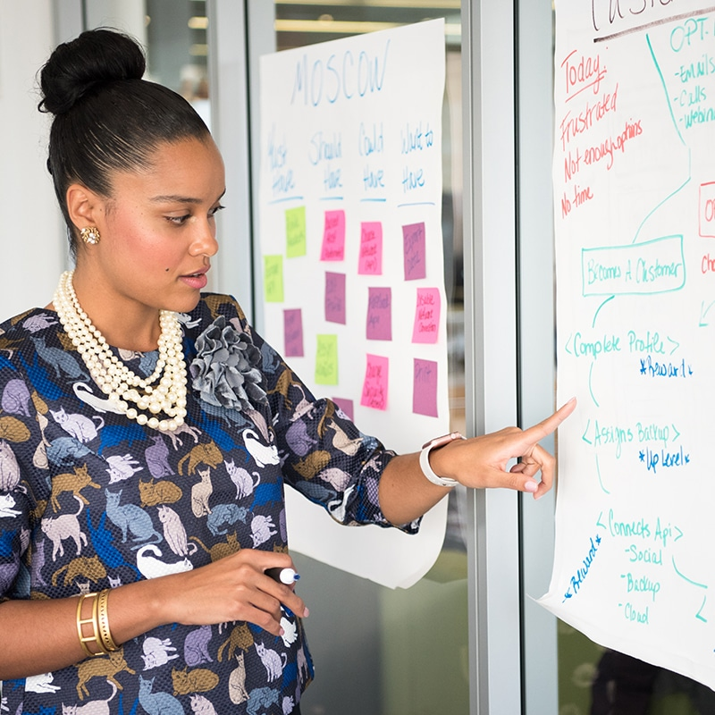 apresentação corporativa de impacto