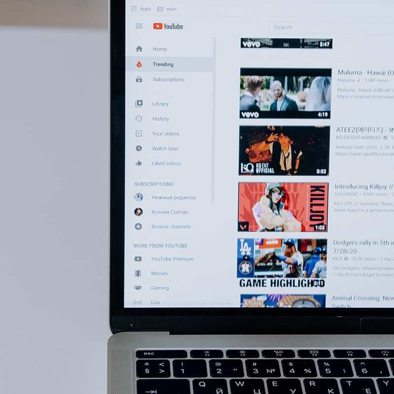 otimizar algoritmo youtube